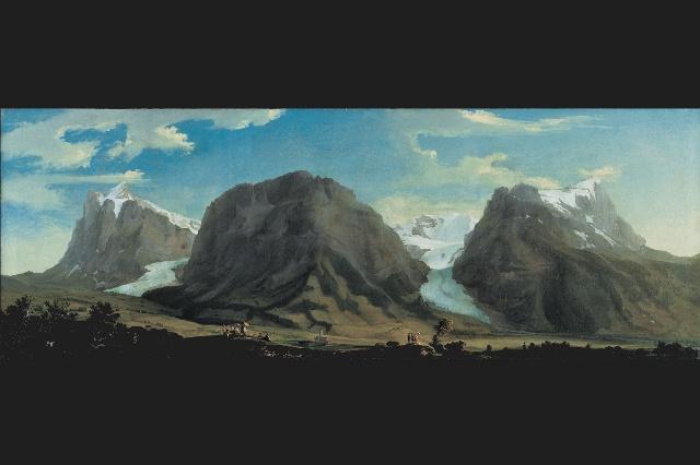 Каспар Вольф (Caspar Wolf); ледник «Нижний Гриндельвальдский глетчер» («Unterer Grindelwaldgletscher») и удар молнии, примерно в 1775 г. Каспар Вольф (Caspar Wolf); ледник «Нижний Гриндельвальдский глетчер» («Unterer Grindelwaldgletscher») и удар молнии, примерно в 1775 г.   Панорама с вершины Бенизегг (Bänisegg) и взгляд на «Нижний Гриндельвальдский глетчер»; 1778 г. Панорама с вершины Бенизегг (Bänisegg) и взгляд на «Нижний Гриндельвальдский глетчер»; 1778 г.   Южный выход из ущелья Далашлухт (Dala-Schlucht). Южный выход из ущелья Далашлухт (Dala-Schlucht).   «Пещера Дракона» недалеко от города Станс (Stans). «Пещера Дракона» недалеко от города Станс (Stans).   Долина Гадменталь (Gadmental) с вершинами Титлис (Titlis), ледником Венденглетчер (Wendengletscher), горами Грассен (Grassen) и Фюнффингерштёкен (Fünffingerstöcken); 1778 г. Долина Гадменталь (Gadmental) с вершинами Титлис (Titlis), ледником Венденглетчер (Wendengletscher), горами Грассен (Grassen) и Фюнффингерштёкен (Fünffingerstöcken); 1778 г.   Большой каменный «стол» на леднике Лаутерарглетчер (Lauteraargletscher). Большой каменный «стол» на леднике Лаутерарглетчер (Lauteraargletscher).   Водопад Штауббахфалль (Staubbachfall) зимой. Водопад Штауббахфалль (Staubbachfall) зимой.   Панорама долины Гриндельвальдталь (Grindelwaldtal) с вершинами Веттерхорн (Wetterhorn), Меттенберг (Mettenberg) и Айгер (Eiger). Панорама долины Гриндельвальдталь (Grindelwaldtal) с вершинами Веттерхорн (Wetterhorn), Меттенберг (Mettenberg) и Айгер (Eiger).