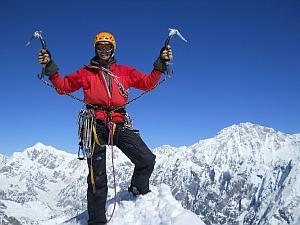 Восхождение украинских альпинистов на Гималайскую вершину Лангшиса Ри выстой 6427 метров
