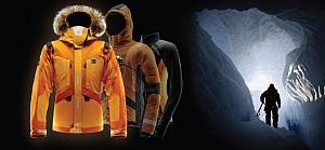 Зимняя куртка для экстремалов с ветроэлектрическим генератором
