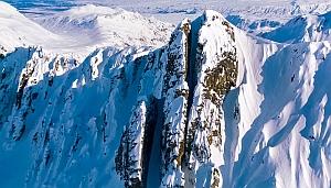 Самый безумный горнолыжный спуск (+ВИДЕО)