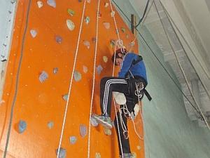 Соревнования по боулдерингу и спортивному туризму в Хмельницком