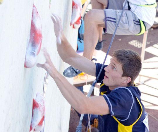 """""""Я тренувався на стінці висотою 10 метрів, бо іншої не було, тоді як у Європі – це 20 метрів..."""""""