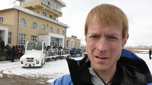 Шон Барч (Sean Burch) в Монголии