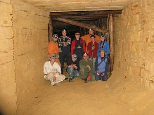 В Одесских катакомбах прошла традиционная экспедиция «Зимняя Одесса 2015»