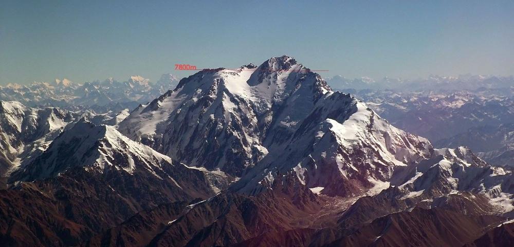 Отметка 7800 метров на Нангапарбат