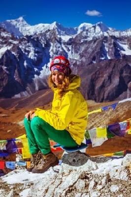 «Дотянуться до небес»: фото-рассказ путешественницы, которая покорила Эверест!