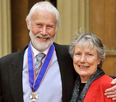 Кристиан Бонингтон (Sir Christian John Storey Bonington) с супругой Венди