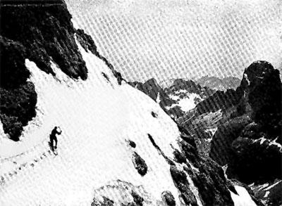 Пол Пройс в восхождении на  Kesselkogel
