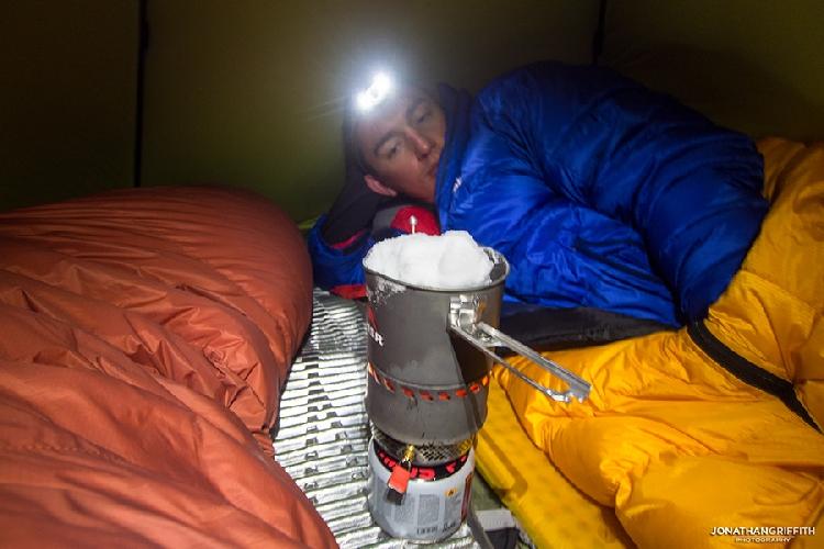Комфортный бивуак базового лагеря