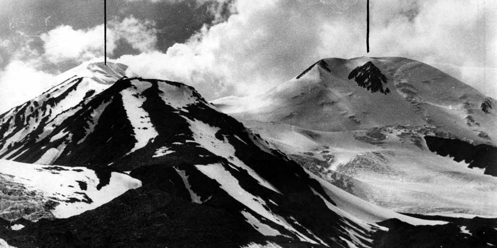 Пики 6041 м и 6146 м. Памир