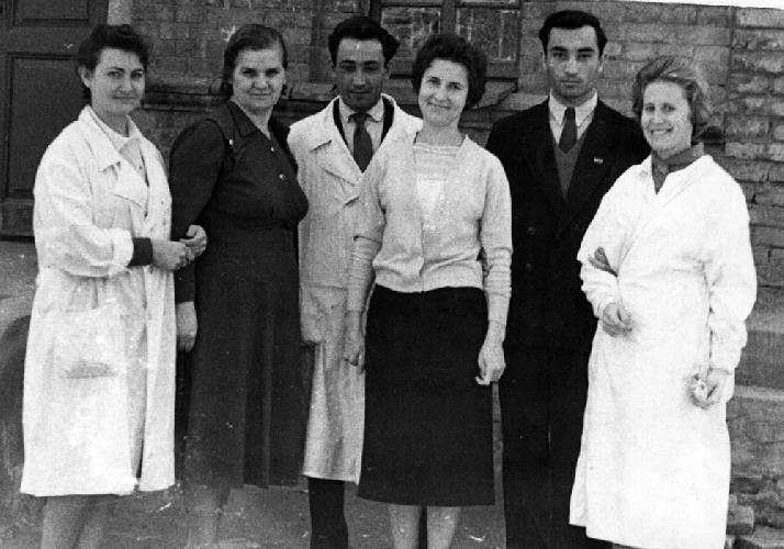 Попова справа – преподаватель Ташкентского Мединститута
