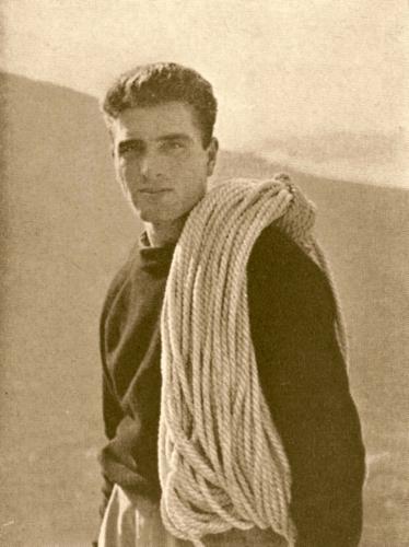 Чезаре Маэстри (Cesare Maestri) в 1953 году