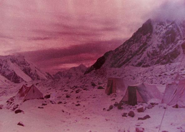 Тоскливый вечер в базовом лагере