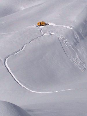 Зимняя экспедиция Симоне Моро на Манаслу. Команда вышла к отметке 5900 метров