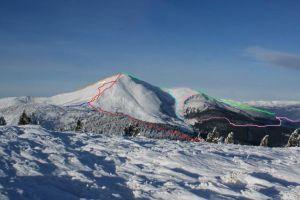 Альпинистский Петрос (Черногорский хребет, Карпаты)