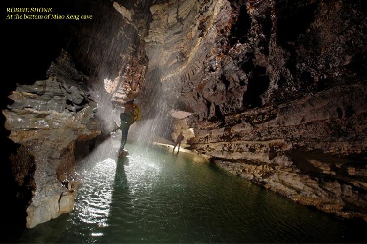 РОББИ ШОН. На дне пещеры Мяо Кенг