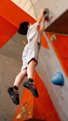 Фоторепортаж с юношеских соревнований по скалолазанию в Кривом Роге