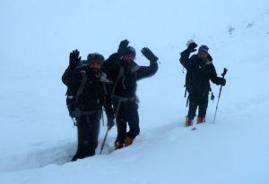 Зимние экспедиции на Нангапарбат сезона 2014/2015 года. Иранская команда уходит домой