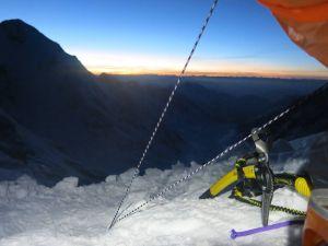 Зимние экспедиции на Нангапарбат сезона 2014/2015 года. Команда снова идет наверх