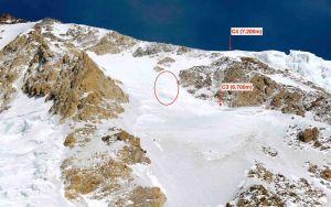 Зимние экспедиции на Нангапарбат сезона 2014/2015 года. Команда в четвертом высотном лагере. Ночью - штурм вершины