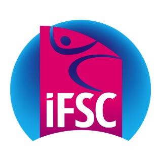новый логотип Международной Федерации спортивного скалолазания (IFSC)