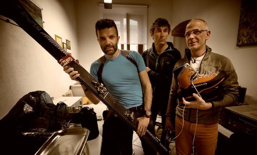 Алессандро Белтрам (Alessandro Beltrame), Марко Бернини (Marco Bernini), Паоло Рабиа (Paolo Rabbia)