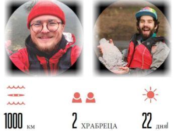 Два экстремала установят Рекорд Украины: от Киева до Черного моря на каяках