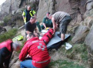 Последствия падения скалолаза с 20 метровой высоты