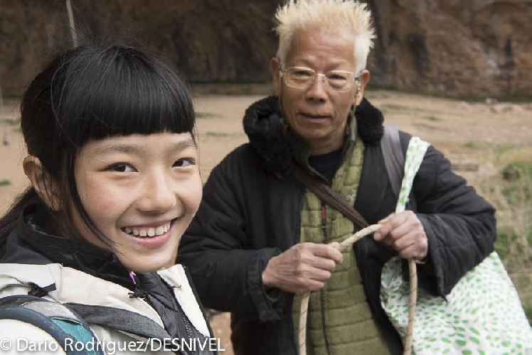 Ашима Шираиши (Ashima Shiraishi) со своим отцом в Испании. март 2015