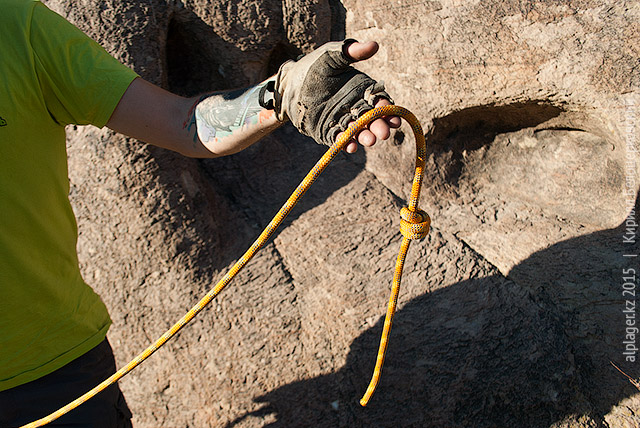 Как следует затяните узел