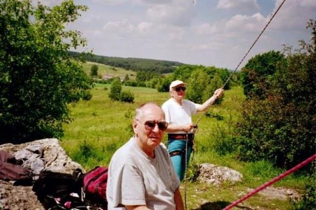 Мачей Бернатти (Maciej Bernatt) и Януш Курчаб (Janusz Kurczab) на скалах