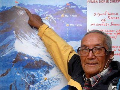 На Эверест в возрасте 83 лет!