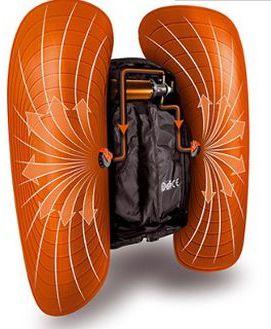 История противолавинных рюкзаков