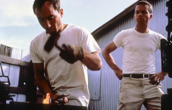 Ивон Шуинард и Том Фрост за работой. Лето 1966