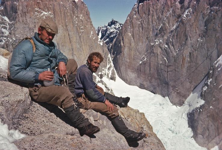 Крис и Дон Пайне, Патагония, фото из архива Криса Бонингтона