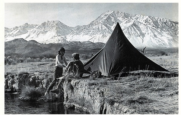 Палатка The Chouinard Pyramid. Фото из каталога 1983 года
