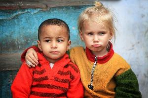 Национальный парк Джим Корбетт на границе с Непалом, Индия (Амелии 3,5 года)