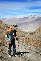 Трек под труднодоступную вершину Сток-Кангри в Ладаке (высота 6137 м.) Индия. (Амелии 3,5 года)