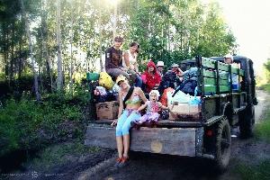 Заброска на Шумак — высокогорный природный парк, Восточные Саяны (Амелии 1,3 года)