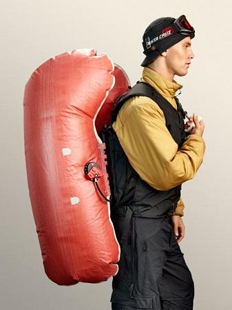 Надутые мешки рюкзака ABS c системой Twin Bag