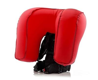 Конструкция рюкзака Snowpulse с системой Life Bag