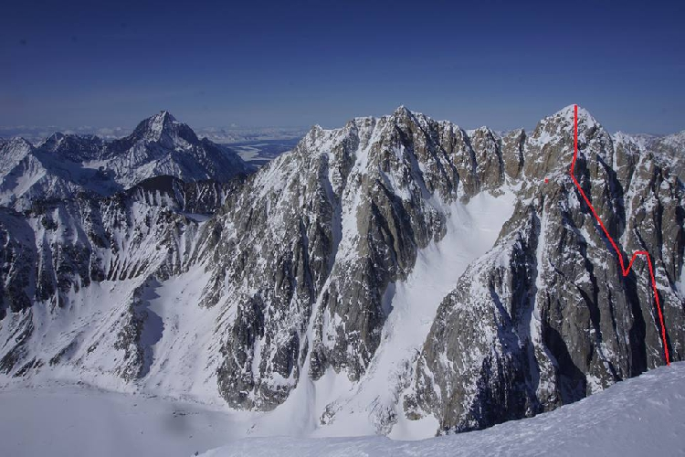 Иезавель (Jezebel), в горах Ревелейшн (Revelations Range), новый маршрут Hoar of Babylon