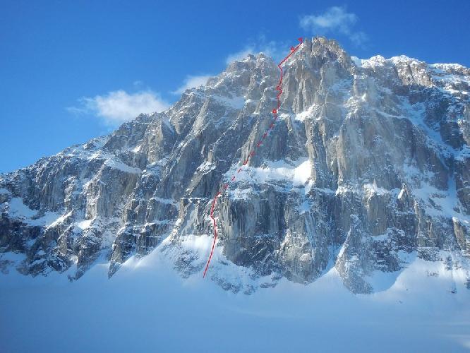 гора Иезавель (Jezebel), новый маршрут Hoar of Babylon