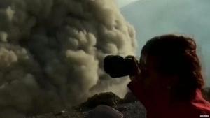 Туристам удалось заснять начало извержения вулкана Телика в Никарагуа