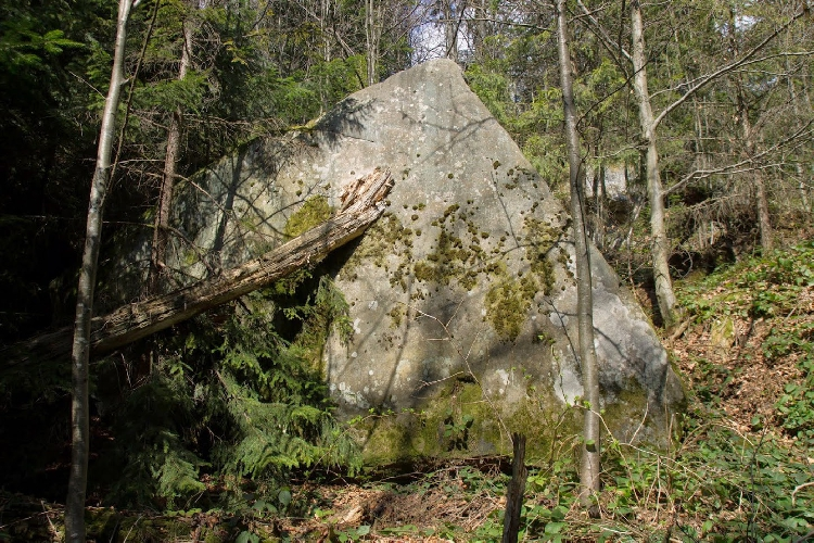 волшебные и малоизвестные скалы близ с. Труханов