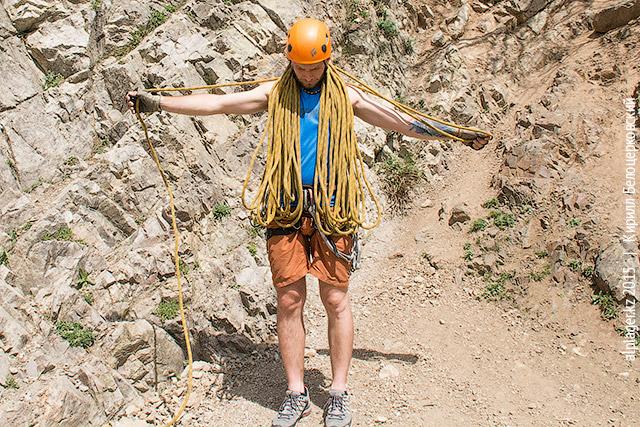 Соберите всю верёвку