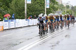 Спортсмены из 13 стран мира приняли участие в велогонке мира в Киеве