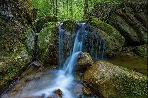 Узкую, похожую на ущелье долину недалеко от деревни Фелланден (Fällanden, кантон Цюрих) загромождает огромное количество эрратических валунов. Вода, тысячелетиями стараясь пробить себе здесь дорогу, привела к появлению очень любопытных скальных формаций. Фотографии: Андреас Герт / Andreas Gerth