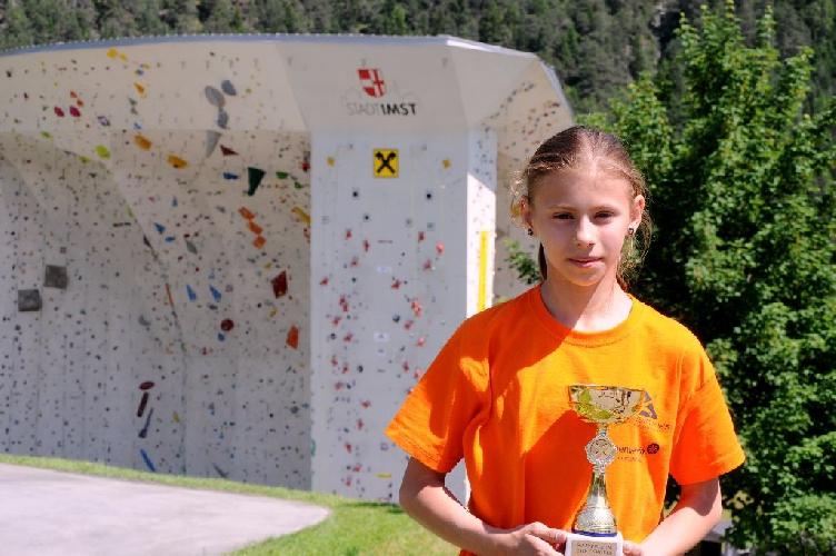 Потапова Ника заняла 2-е место на европейских молодежных соревнованиях «Youth Colour Climbing»