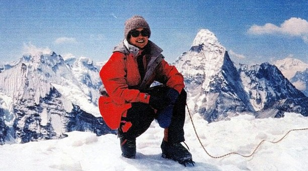 Френсис Дистефано (Francys Distefano-Arsentiev) у Эвереста